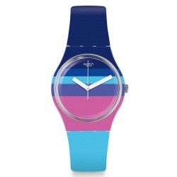 Swatch Women's Watch Gent Azul'Heure GE260