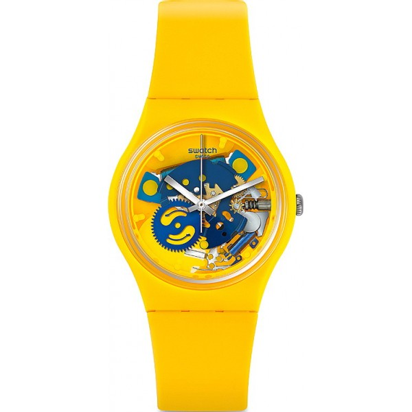 Buy Swatch Unisex Watch Gent Four Poussin GJ136