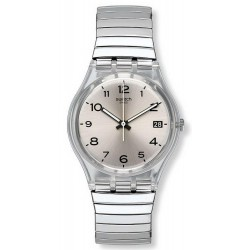 Swatch Unisex Watch Gent Silverall S GM416B