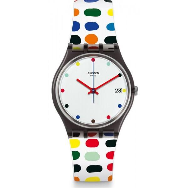 Buy Swatch Women's Watch Gent Milkolor GM417