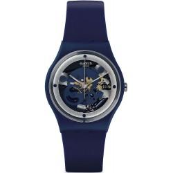Swatch Unisex Watch Gent Squelette Blue GN245