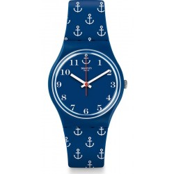 Swatch Unisex Watch Gent Anchor Baby GN247