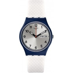 Swatch Unisex Watch Gent White Delight GN720