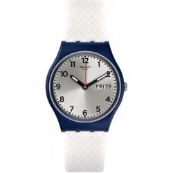 Swatch GN720 Gent White Delight Unisex Watch