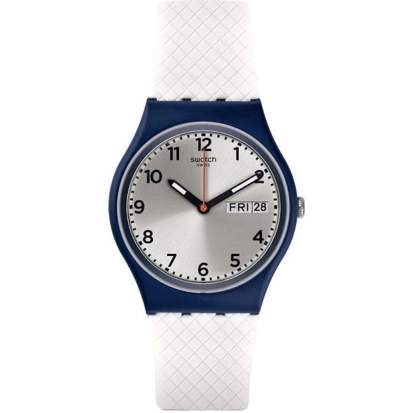 Buy Swatch Unisex Watch Gent White Delight GN720