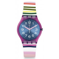 Buy Swatch Women's Watch Gent Funny Lines GP153