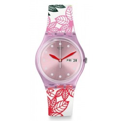 Swatch Women's Watch Gent Summer Leaves GP702