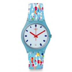 Swatch Women's Watch Gent Prikket GS401