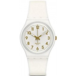Swatch Unisex Watch Gent White Bishop GW164