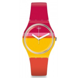 Swatch Women's Watch Gent Roug'Heure GW198