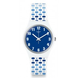 Swatch Women's Watch Gent Paveblue GW201