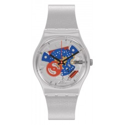 Swatch Watch Gent Take Me To The Moon NASA GZ355