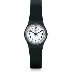 Swatch Women's Watch Lady Something Black LB184