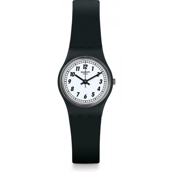 Buy Swatch Women's Watch Lady Something Black LB184