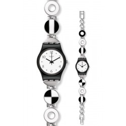 Swatch Women's Watch Lady Blackiniere LB185G