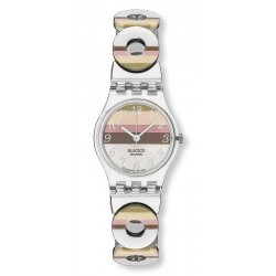 Swatch Women's Watch Lady Metallic Dune LK258G