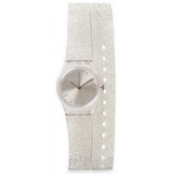 Swatch Women's Watch Lady Silver Glistar LK343