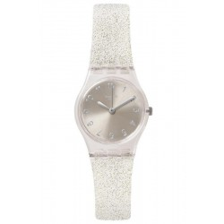 Swatch Women's Watch Lady Silver Glistar Too LK343E