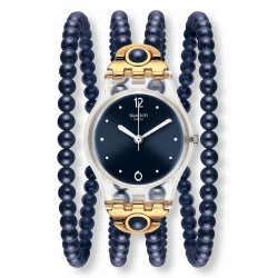 Swatch Women's Watch Lady Night Prohibition LK352