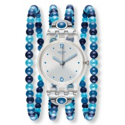 Swatch Women's Watch Lady Blues Prohibition LK353