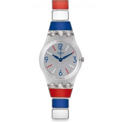 Swatch Women's Watch Lady Miss Mariniere LK364G