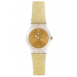 Swatch Women's Watch Lady Golden Glistar Too LK382