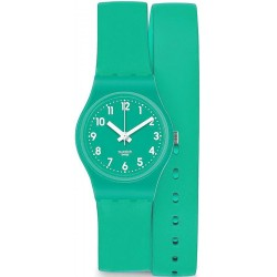 Swatch Women's Watch Lady Mint Leave LL115