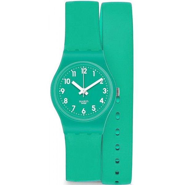 Buy Swatch Women's Watch Lady Mint Leave LL115