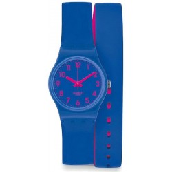 Swatch Women's Watch Lady Biko Bloo LS115