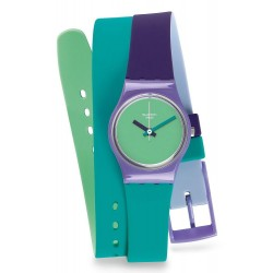 Swatch Women's Watch Lady Fun In Blue LV117
