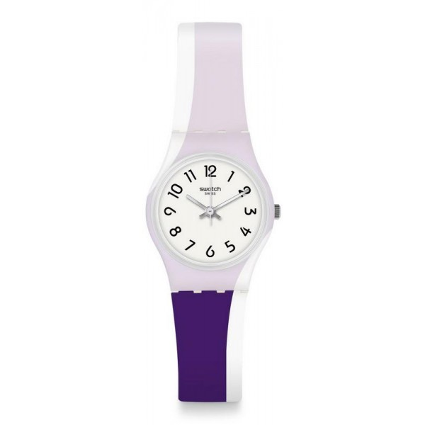 Buy Swatch Womens Watch Lady Purpletwist LW169