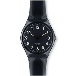 Swatch Unisex Watch Gent Black Suit GB247