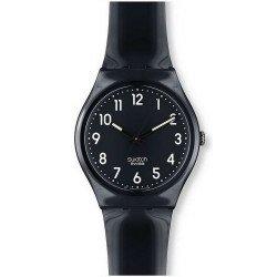 Swatch GB247 Originals Gent Black Suit Unisex Watch