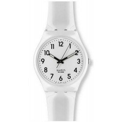 Swatch Unisex Watch Gent Just White GW151