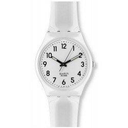 Buy Swatch Unisex Watch Gent Just White GW151