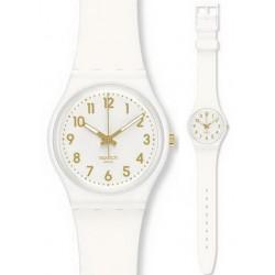 Swatch GW164 Gent White Bishop Unisex Watch