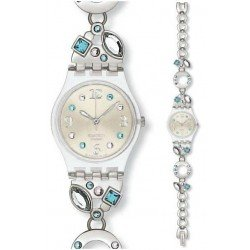 Swatch Women's Watch Lady Menthol Tone LK292G