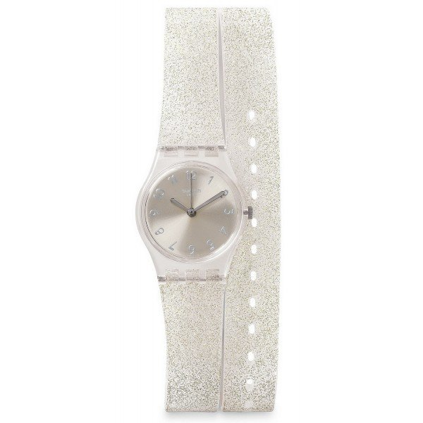 Buy Swatch Women's Watch Lady Silver Glistar LK343