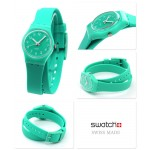 Swatch LL115 Originals Lady Mint Leave Women's Watch