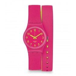 Swatch Women's Watch Lady Biko Roose LP131