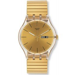 Swatch SUOK702B New Gent Dazzling Light Unisex Watch