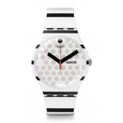 Swatch Unisex Watch New Gent Zebratian SUOW706