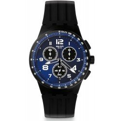 Swatch Unisex Watch Chrono Plastic Nitespeed SUSB402