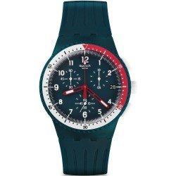 Swatch Men's Watch SUSN405 Chrono Plastic El Comandante Chronograph