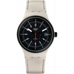 Swatch Unisex Watch Sistem 51 Sistem Cream SUTM400 Automatic
