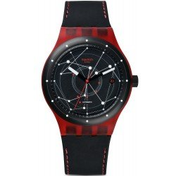 Buy Swatch Unisex Watch Sistem51 Sistem Red SUTR400 Automatic