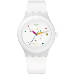 Buy Swatch Unisex Watch Sistem51 Sistem White SUTW400 Automatic
