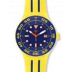 Swatch Unisex Watch Scuba Libre Playero SUUJ400
