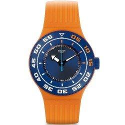 Swatch Unisex Watch Scuba Libre Serifos SUUO100
