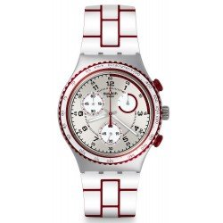 Swatch Unisex Watch Irony Chrono Speed Counter YCS1012